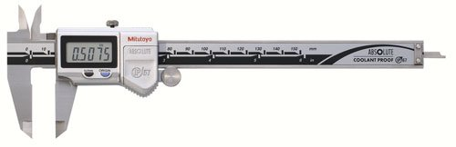 Mitutoyo 500-752-20, Digimatic Caliper, 0-6', IP67, 0005' 0/01 mm No SPC