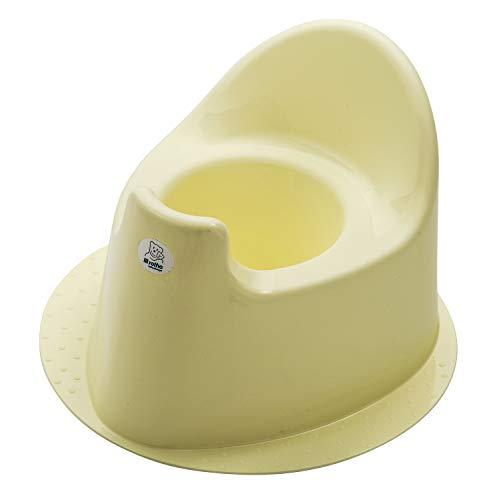 Rotho Babydesign TOP Pot Enfant, Avec pied solide, À partir de 18 mois, Yellow Delight (Jaune), 20003 0290