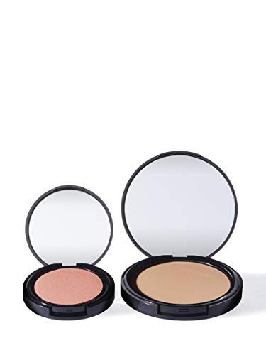 Marchio Amazon - find. Sunkissed radiance duo - chiaro (Bronzer n.1 + Blush n.1)