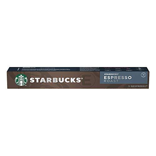 Café Cápsulas Espresso Roast Starbucks Nespresso 10 un