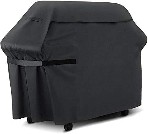 Funda para Muebles Impermeable Cubiertas for muebles de jardín cubierta for la cubierta de protección Dust BBQ lona for Barbacoa (Negro / 120 x 60 x 160 cm, 120 × 47 × 103cm) mesa y sillas jardin terr