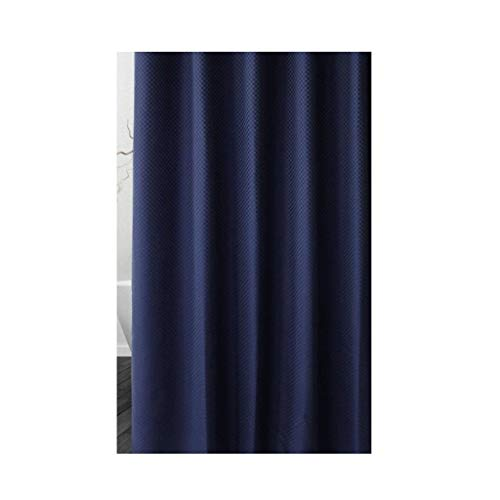 BRFDC Cortina Ducha Cortina de Ducha engancha Azul/Beige / / Cuarto de baño Blanco Moho Impermeable de poliéster de Color Gris (Color : Blanco, Talla : 200x220cm)