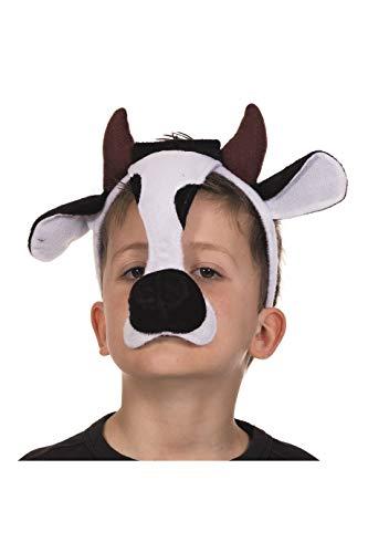 Masque d'animal, vache
