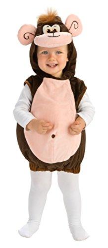 Rubies - Disfraz de Mono para niños, talla bebé 1-2 años (Rubie's 885590-T)