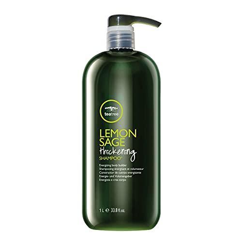 Tea Tree Lemon Sage Thickening Shampoo, Builds Body + Boosts Volume, For Fine Hair, 33.8 fl. oz.