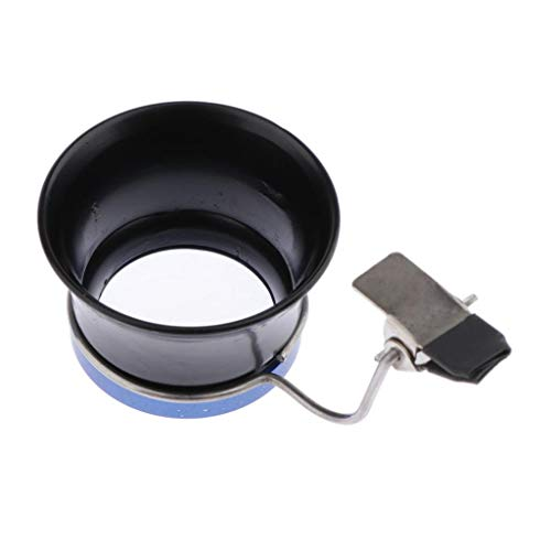 P Prettyia 5-fache Uhrmacherlupe, Augenlupe, Schmuck Lupe, Enzel Okular mit Clips Vergrößerungwerkzeug