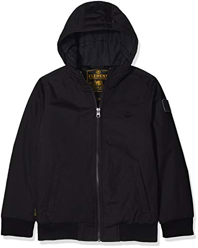Element Jungen Dulcey Jacke, Flint Black, 14