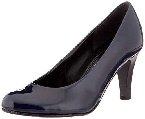 Gabor Shoes Damen Basic Pumps, Blau (Marine 76), 44 EU