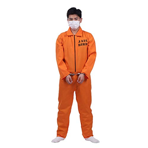 Dani Filth Halloween Costumes - FLORMOON Halloween Costume Orange Prisoner Cosplay
