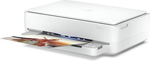 Impresora multifunción HP Envy 6022 WiFi - 1200 x 1200 PP - Imprime, Copia y escanea - Color Blanco
