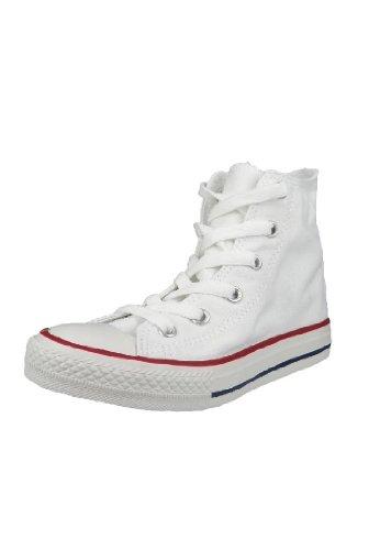 Converse Ctas Core Hi 015860-34-3, Sneaker Unisex Bambini, Bianco, Taglia 32