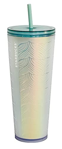 Starbucks 50th Anniversary Frosted Sirens Tail Venti Cold Cup 24oz