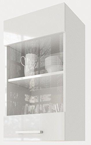 """ELDORADO-MÖBEL 40 cm Hängeschrank für die Küche Martha"""" 2004 (Weiß-lackiert)"""