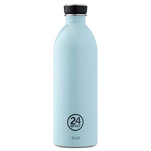Trinkflasche 'Urban Bottle Pastel' aus Edelstahl 1 Liter, Farbe:Cloud Blue