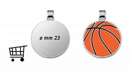 Ten Runde Basketballplatte Größe 1 Euro cod.EL28126 cm 2,8x2,3x0,2h by Varotto & Co.