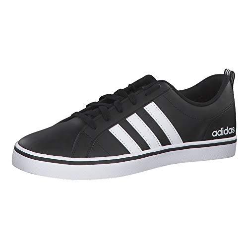 Adidas Vs Pace, Zapatillas para Hombre, Negro (Core Black/Footwear White/Scarlet 0), 44 EU