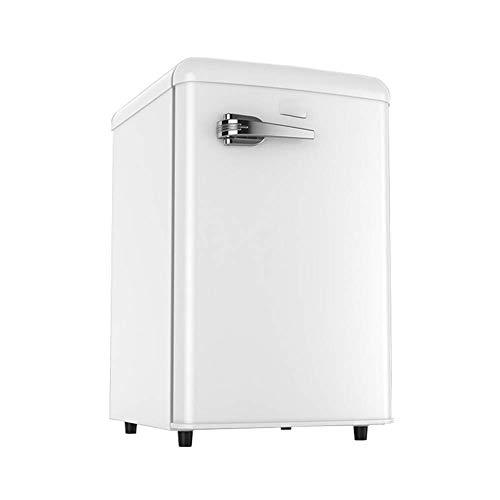 QTCD Refrigerador Independiente de 75L para Debajo del mostrador con Mango, Temperatura Ajustable, compresor de Mesa Compacto de Baja energía de 90L para la Cocina del hogar