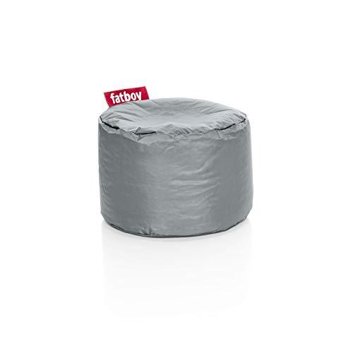 Fatboy Point Hocker Silber, Nylon, 35 x 35 x 50 cm (LxBxH)
