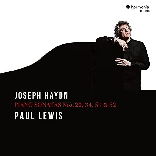 ハイドン : ピアノ・ソナタ集 vol.2 / ポール・ルイス (Joseph Haydn - Piano Sonatas Nos.20, 34, 51 & 52 / Paul Lewis) [CD] [Import] [日本語帯・解説付]