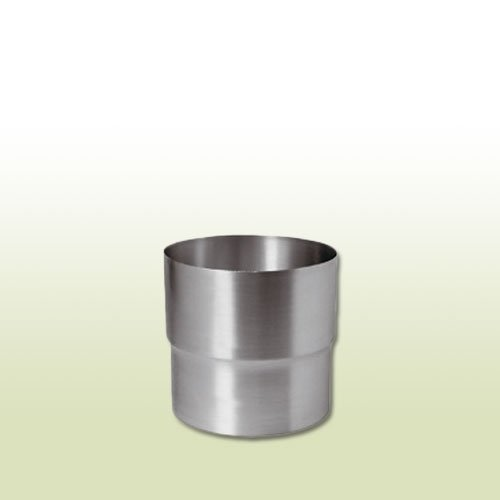 Titanzink Steckmuffe Fallrohrverbinder für Rohre DN 100