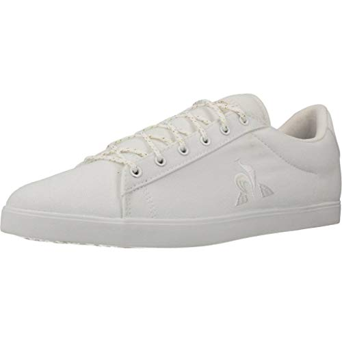 Le Coq Sportif Damen Agate Sport Optical White Sneaker, Optisches Weiß, 37 EU