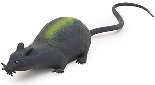 Toyland Le Rat Extensible de 13 centimètres de Caoutchouc avec la Longue Queue - l'Halloween - Les Jouets de Nouveauté (HL17) [Le Jouet]