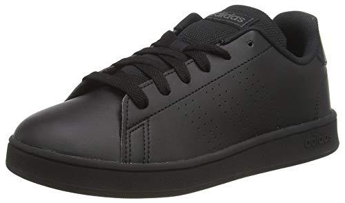 Adidas Advantage K, Zapatillas de Tenis Unisex niño, Multicolor (Negbás/Negbás/Grisei 000), 30.5 EU
