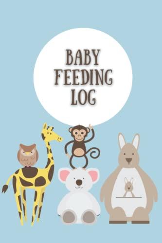 Baby Feeding Log: Baby Feeding Log Book: Tracker for Breastfeeding, Diaper Changes and Bottle Feeding for Boys