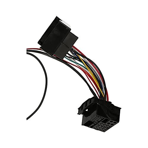 XIAO YANG Coche BT 5.0 Music AUX Adapter+micrófono manos libres cableado reemplazo para Ford Mondeo