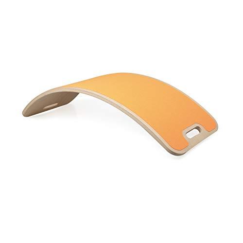 Perfect Arc Felt Tavola Curvy Tavola Waldorf Tavola Montessori Tavola Curva Balance Board oscillante Legno Naturale...