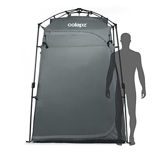 Colapz Duschzelt Camping - Camping Toilette hoch - Mobiler Sichtschutz Outdoor Pop Up Changing Tent - Mobile Dusche Zelt