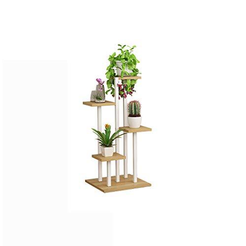 balcon voyantes Salon meuble en fer forgé multi-couches intérieur multi-usages rack de stockage balcon décoration charnue vert étagère à fleurs Plantes d'extérieur Présentoir (Couleur : A)