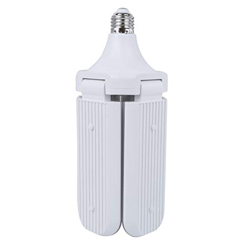 Germerse Amplia Gama de iluminación Conveniente de la aplicación Amplia Lámpara Plegable LED de la luz del Garaje(Sanye 45W Warm White)