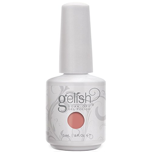 Harmony Gelish Up in The Air-heart Nail Gel, Dusty Coral Creme