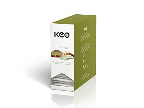 KEO Tee - TERRA VITAL - 15 Teachamps im Aromakuvert