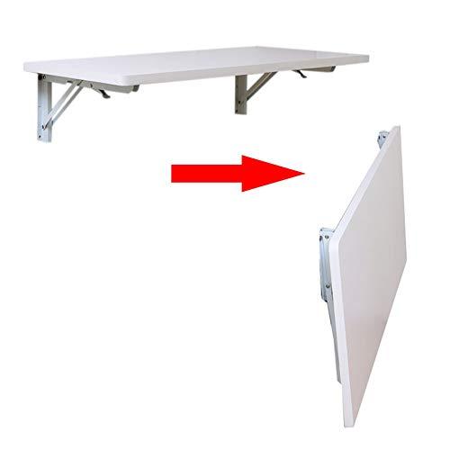 Holz-Klapptisch, Wandtisch, Esstisch Computer Table Studie Schreibtisch Wandtische Wandklapptisch - 40/50 / 60/70/80/90/100 / 120cm Breite (Size : 60X40cm)