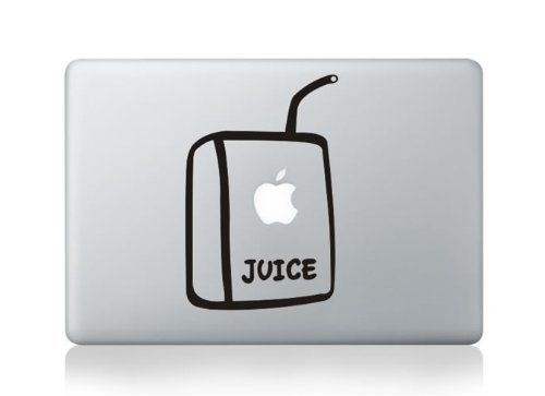 Juice box Macbook 13 inch sticker kunst voor Apple Laptop