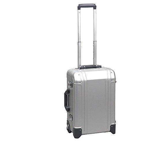 """[ゼロハリバートン] ZEROHALLIBURTON GEO Aluminum 3.0 20""""Carry-On 2-Wheel Travel Case Silver[並行輸入品]"""