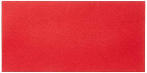 Briefumschlag DIN lang rot