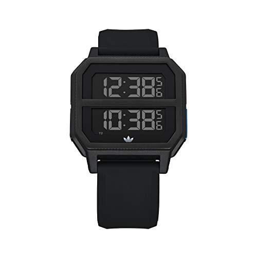 Adidas by Nixon Reloj Digital para Unisex Adulto de con Correa en Silicona Z16-3042-00