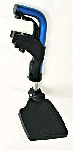 Beensteun Links voor Rolstoel Vermeiren V300 Blauw