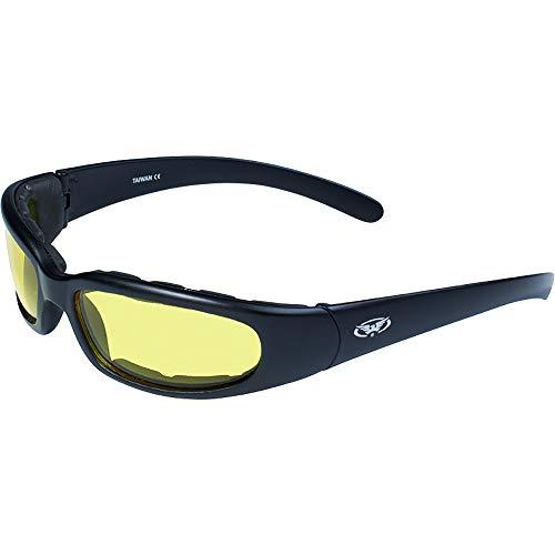 Global Vision Eyewear Chicago 24 - Occhiali da sole da uomo con lenti fotocromatiche che cambiano colore, Uomo, ..., 24 Chicago, Giallo, Taglia unica