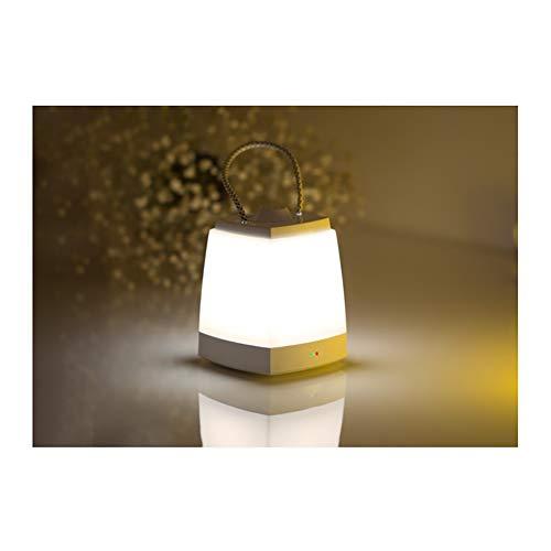 ZWH-Lanterne de Camping Lanterne LED Camping Lumière Charge Maison Camping Pendentif sans Fil Mobile Éclairage Extérieur Tente Lampe Maison Portable (Color : White)