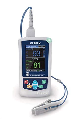 UTECH UT100V Veterinär-Pulsoximeter SPO2 PR, 7,1 cm