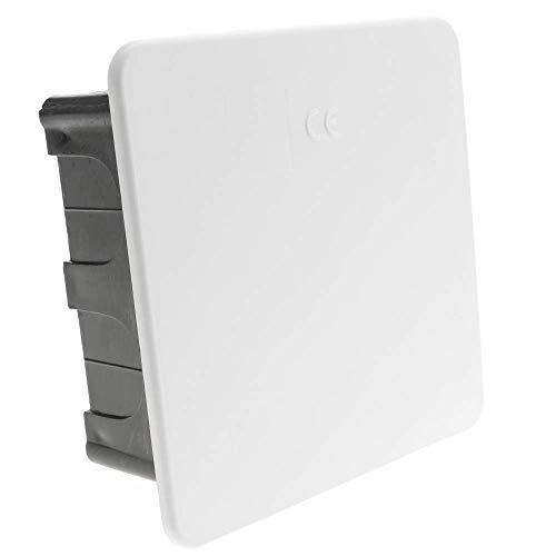 BeMatik - 100x100x48mm vierkante inbouwdoos voor holle muren
