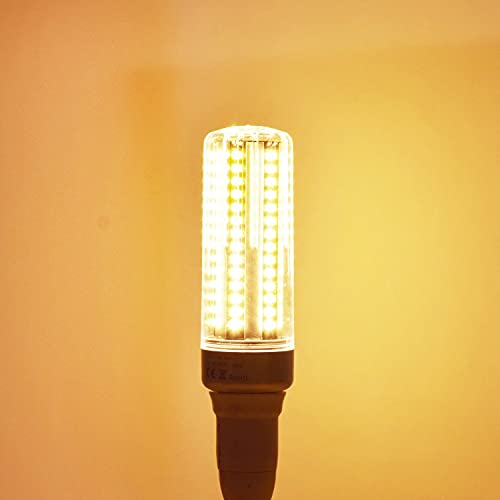HHF LED Bulbs Lamps, 2pack LED LED Bombilla de reemplazo de la Bombilla incandescente E26 E27 Lámpara de 25W con Cubierta 2000 Lunas No-Dimmable White White 3000K