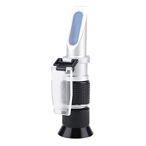 Portable Refractometer Professionelle Hand Brix Refraktometer 0~90% Spezifische Lebensmittel Bier Milch Fruchtsaft Zucker Meter Tester