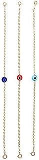 Evil Eye Bracelet Plain Chain