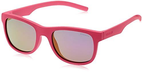 Polaroid PLD 8020/S AI CYQ Gafas de sol, Rosa (Dark Pink/Grey Pink Grey Speckled Pz), 46 mm Unisex Niños