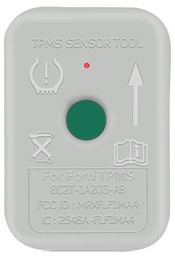 JDIAG TPMS Sensor Tool, TPMS Relearn Tool for Ford Auto TPMS Reset Sensor Programming Training Tools Tire Pressure Monitoring System (TPMS-19 / 8C2Z-1A203-A)